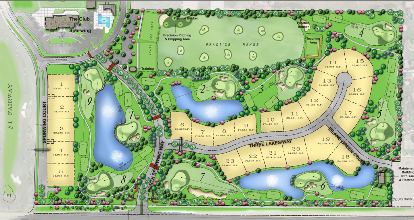Golf Course Design - Spurwing Challenge Course